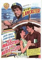 His Majesty O'Keefe - Spanish Movie Poster (xs thumbnail)
