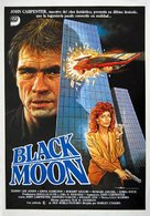 Black Moon Rising - Spanish Movie Poster (xs thumbnail)