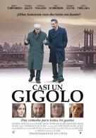 Fading Gigolo - Chilean Movie Poster (xs thumbnail)