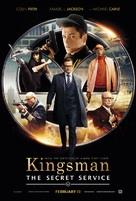 Kingsman: The Secret Service - Theatrical movie poster (xs thumbnail)