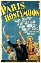 Paris Honeymoon - Movie Poster (xs thumbnail)