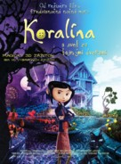 Coraline - Slovak Movie Poster (xs thumbnail)