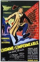 L'homme à l'imperméable - French Movie Poster (xs thumbnail)