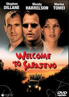 Welcome To Sarajevo - DVD cover (xs thumbnail)