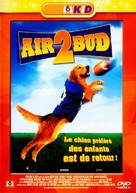 Air Bud: Golden Receiver - French DVD movie cover (xs thumbnail)