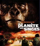 Battle for the Planet of the Apes - French Blu-Ray cover (xs thumbnail)