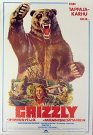 Grizzly - Finnish Movie Poster (xs thumbnail)