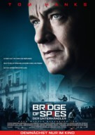 Bridge of Spies - German Movie Poster (xs thumbnail)