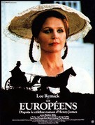 The Europeans - French Movie Poster (xs thumbnail)