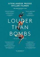 Louder Than Bombs - Norwegian Movie Poster (xs thumbnail)