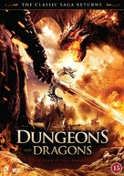 Dungeons & Dragons: The Book of Vile Darkness - Danish DVD movie cover (xs thumbnail)