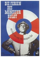 Les vacances de Monsieur Hulot - German Movie Poster (xs thumbnail)