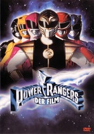 Mighty Morphin Power Rangers: The Movie - German DVD cover (xs thumbnail)