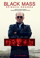 Black Mass - Slovak Movie Poster (xs thumbnail)