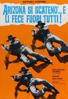 Arizona si scatenò... e li fece fuori tutti - Italian Movie Poster (xs thumbnail)