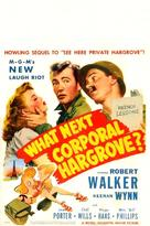 What Next, Corporal Hargrove? - Movie Poster (xs thumbnail)