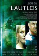 Lautlos - German poster (xs thumbnail)