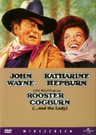 Rooster Cogburn - DVD cover (xs thumbnail)
