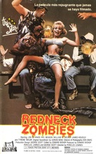 Redneck Zombies - Spanish VHS cover (xs thumbnail)