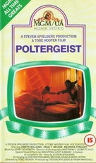 Poltergeist - British VHS movie cover (xs thumbnail)