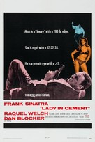 Lady in Cement - Movie Poster (xs thumbnail)