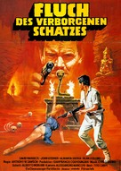 Cacciatori del cobra d'oro, I - German Movie Poster (xs thumbnail)