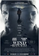 Wind River - Belgian Movie Poster (xs thumbnail)