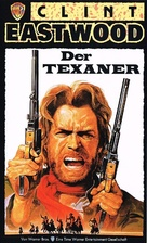 The Outlaw Josey Wales - German VHS movie cover (xs thumbnail)