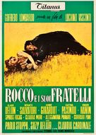 Rocco e i suoi fratelli - Italian Movie Poster (xs thumbnail)