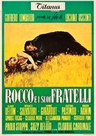 Rocco e i suoi fratelli - Italian Movie Poster (xs thumbnail)