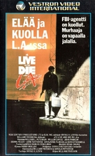To Live and Die in L.A. - Finnish VHS movie cover (xs thumbnail)