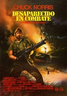 Missing in Action - Spanish Movie Poster (xs thumbnail)