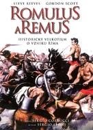 Romolo e Remo - Czech DVD cover (xs thumbnail)