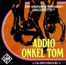 Addio zio Tom - German Movie Cover (xs thumbnail)