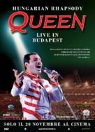 Varázslat - Queen Budapesten - Italian Re-release poster (xs thumbnail)
