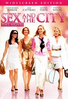 Sex and the City - DVD cover (xs thumbnail)