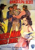 Riding Shotgun - German Movie Poster (xs thumbnail)