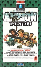 Anzio - Finnish VHS movie cover (xs thumbnail)