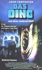 The Thing - German Movie Cover (xs thumbnail)