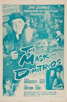 The Mask of Dimitrios - Re-release poster (xs thumbnail)