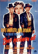 Gunfight at the O.K. Corral - German Movie Poster (xs thumbnail)