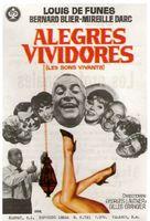 Les bons vivants - Spanish Movie Poster (xs thumbnail)