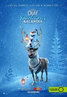 Olaf's Frozen Adventure - Hungarian Movie Poster (xs thumbnail)