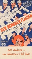 Here Comes the Navy - Danish Movie Poster (xs thumbnail)