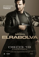 Taken - Hungarian Movie Poster (xs thumbnail)