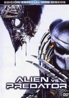 AVP: Alien Vs. Predator - Spanish DVD movie cover (xs thumbnail)