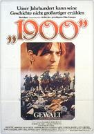 Novecento - German Movie Poster (xs thumbnail)