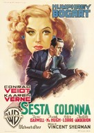 All Through the Night - Italian Movie Poster (xs thumbnail)