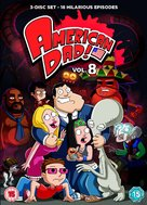 """American Dad!"" - British DVD movie cover (xs thumbnail)"