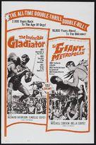 Il gigante di Metropolis - Combo poster (xs thumbnail)
